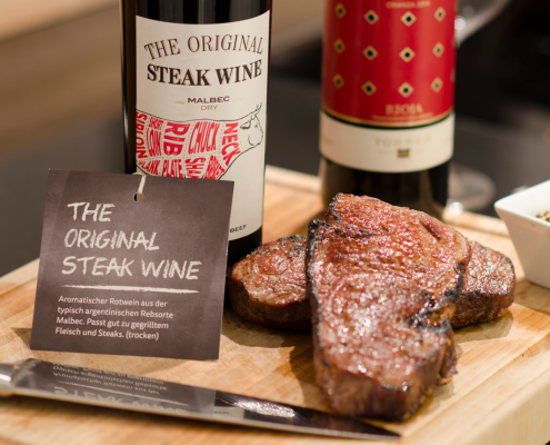 Steak Wine
