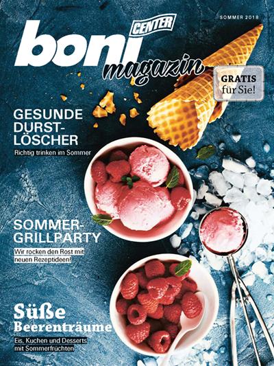 boni Magazin Sommer 2018