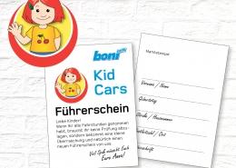 Kid Cars Führerschein