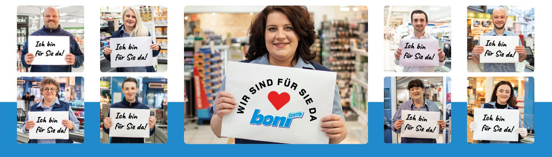 Das boni Team ist für Sie da!